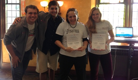 University of Chicago student registration team